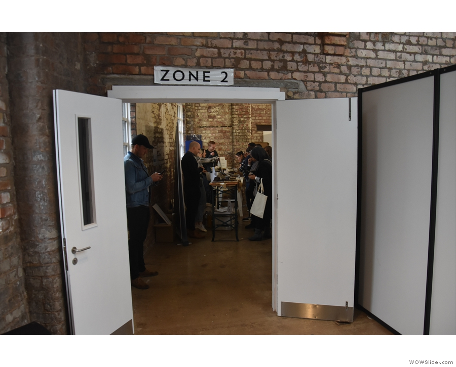 Zone 2 is to the left of Zone 1...