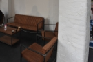 ... including this cosy corner at the back by the demo area...