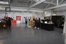 With the extra Zones taking quite a few stands, the main space was much more open...