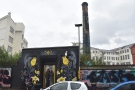 Unlike last year, when you entered through the Custard Factory, this year it had its own...