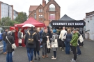 On Saturday and Sunday, the street food moved to Zone 5 (the car park)...