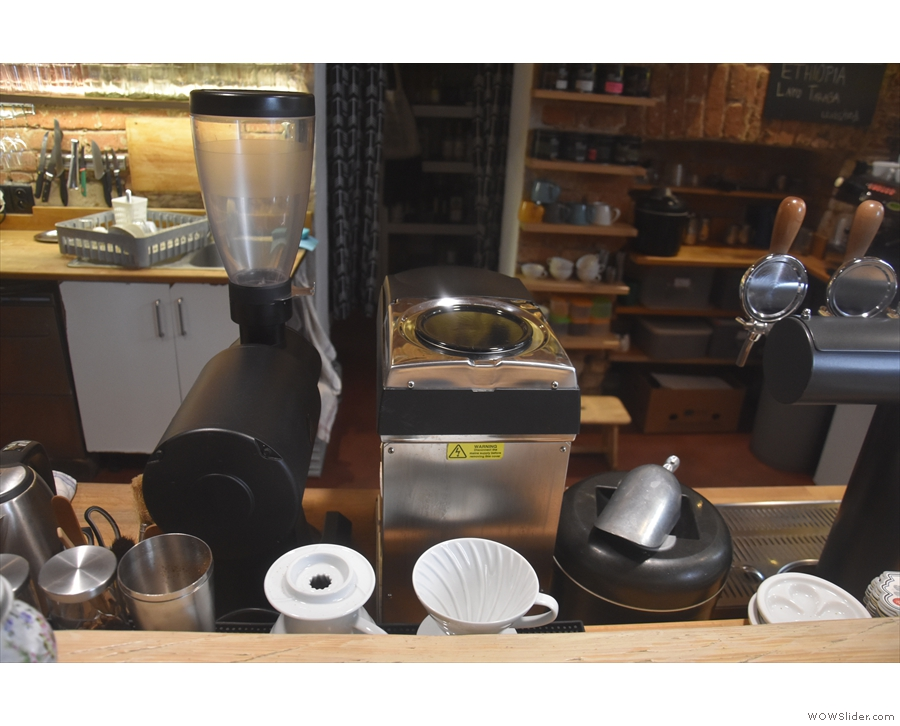 ... although there is also pour-over through V60 and Kalita Wave...