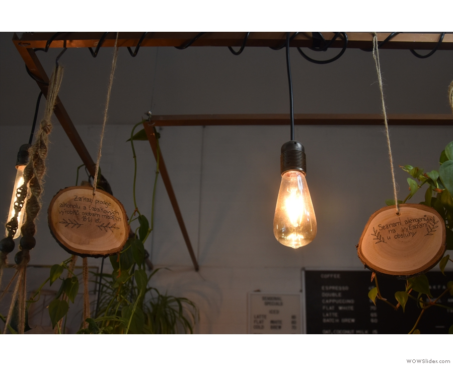 There were lots of individual light bulbs worthy of my attention too...