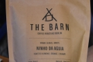 During my viist, this Brazilian single-origin from The Barn was on batch brew.