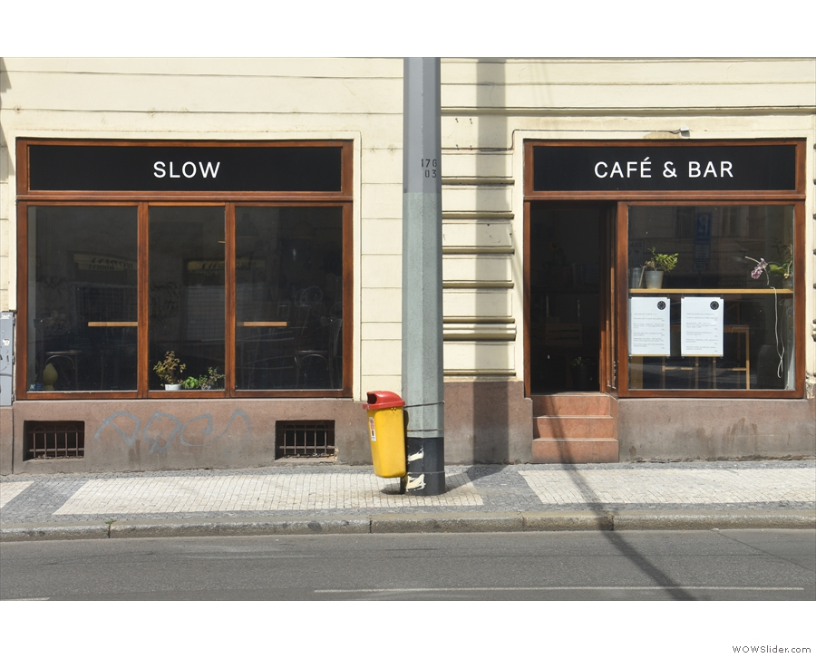...the very lovely Slow Café (& Bar).