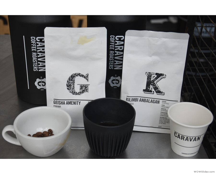 ... a Panama Geisha and a Rwandan, both in my Huskee Cup (but not at the same time!).
