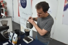 This is Rory, by the way, who is seen here brewing up a Mount Halu filter.