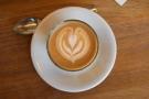 Nice latte art...