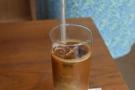 Here's Amanda's iced latte...
