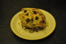 ... and this lovely blueberry crumble muffin, which was very cake-like.