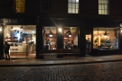 Brew Lab, a shining beacon of brightness on a dark December evening in Edinburgh.