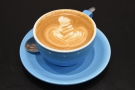 However, I wasn't to be distracted, deciding to have my typical flat white...