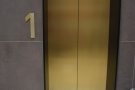 ... the lift, which provides access to Ziggy Green (and to the offices above).
