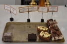There's also a selection of cakes, not that any of this need worry you unless you are...