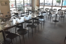 ... of varying sizes, including this large communal table.