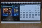 An example of one of the months from the desktop version (The Bristolian, February)