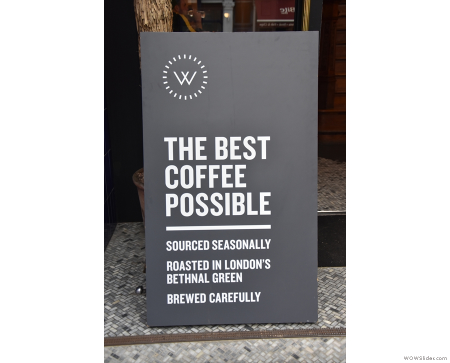 It's Workshop Coffee, which, since 2018, has been running a coffee bar in the lobby!