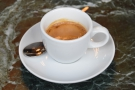 On my first visit, on Sunday, I had an espresso, the Cerro de Jesus from Nicaragua...