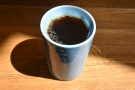 First is the Summer Opus, a Honduran single-origin in my ThermaCup...