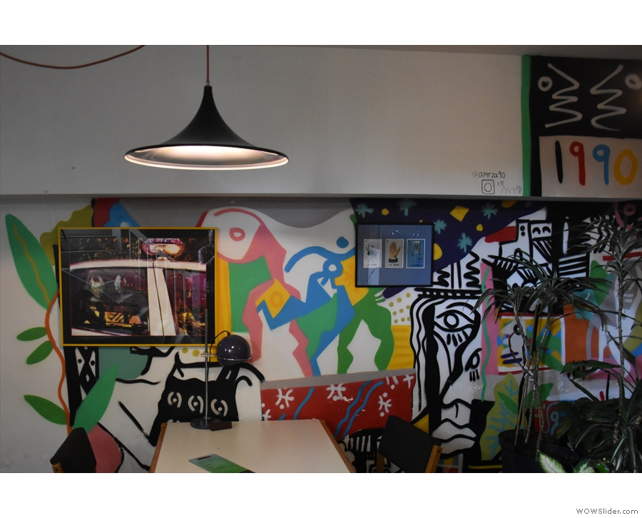 ... and this are some of the examples from the basement...