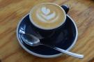 I had a piccolo, served in an espresso cup...