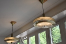 There are plenty of windows upstairs, but also plenty of light fittings such as these...