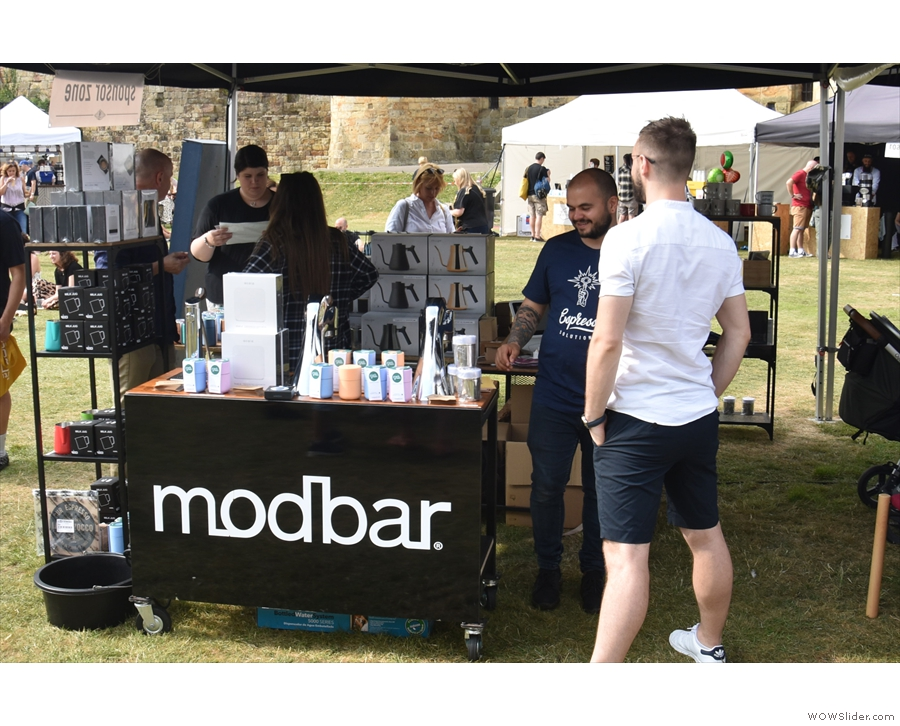 ... including the likes of Modbar, the modular espresso and filter system...