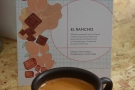 ... where I had a shot of the El Rancho, a washed Guatemalan, in my Kaffeeform cup.