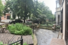 A panoramic view from in front of Mamacoffee's solitary window.