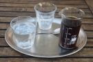 ... which I had as a pour-over, served in a carafe on an oval tray.