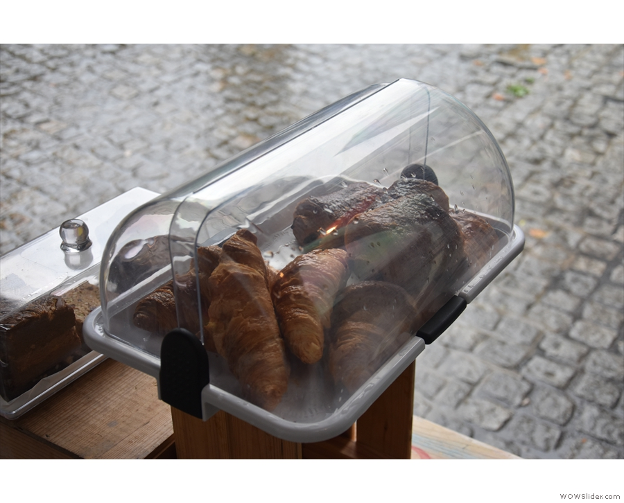 ... and not forgetting the pastries on the table outside.