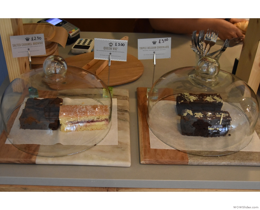 ... while on the bottom are some cakes from old friends, Cakesmiths.