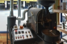 ... roaster that I've seen before, installed in the window in its own roastery area.