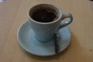 Finally, I tried a traditional Indonesian coffee, the Kopi Tubruk.