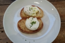 ... poached eggs on toast. Sadly those are all the photos I have from that visit!
