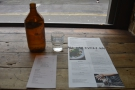 Ozone offers full table service, where you get a bottle of water and lots of menus.