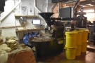... and, of course, the roaster, a vintage, 22kg Probat.