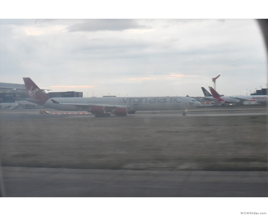 ... which includes this Virgin Atlantic Airbus A340.