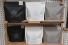 ... and retail bags of all Wood St's single-origins (espresso + filter) on top.