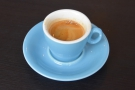 And for coffee, a simple espresso made with the house-blend from Curved Brick...