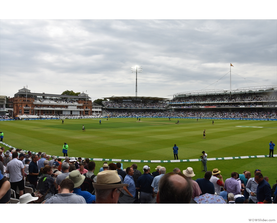 A fortnight ago, I was back at Lord's for the first ever England vs Ireland Test Match.