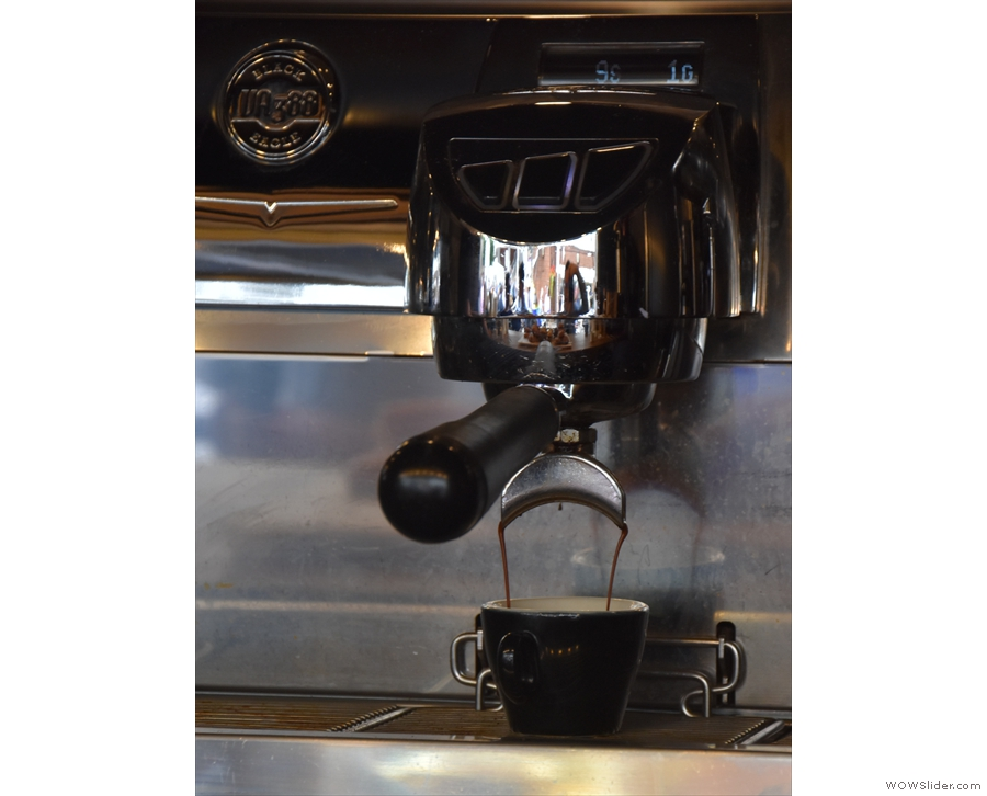 Of course, this means its perfectly positioned if you like to watch your espresso extract.