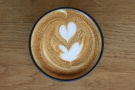 ... with yet more lovely latte art.