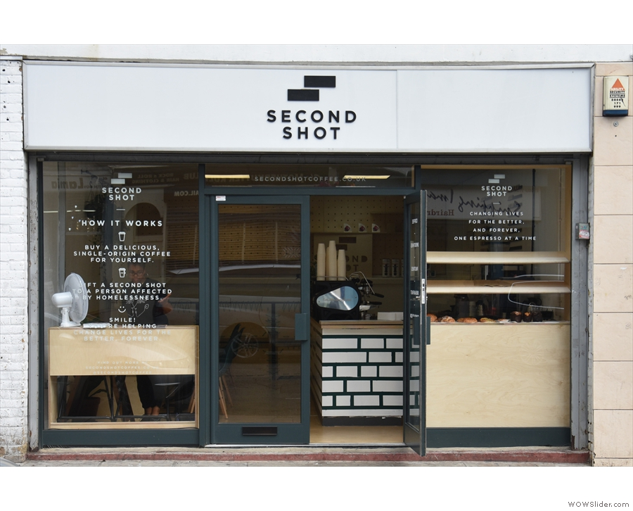 Why, it's the new branch of Second Shot Coffee!
