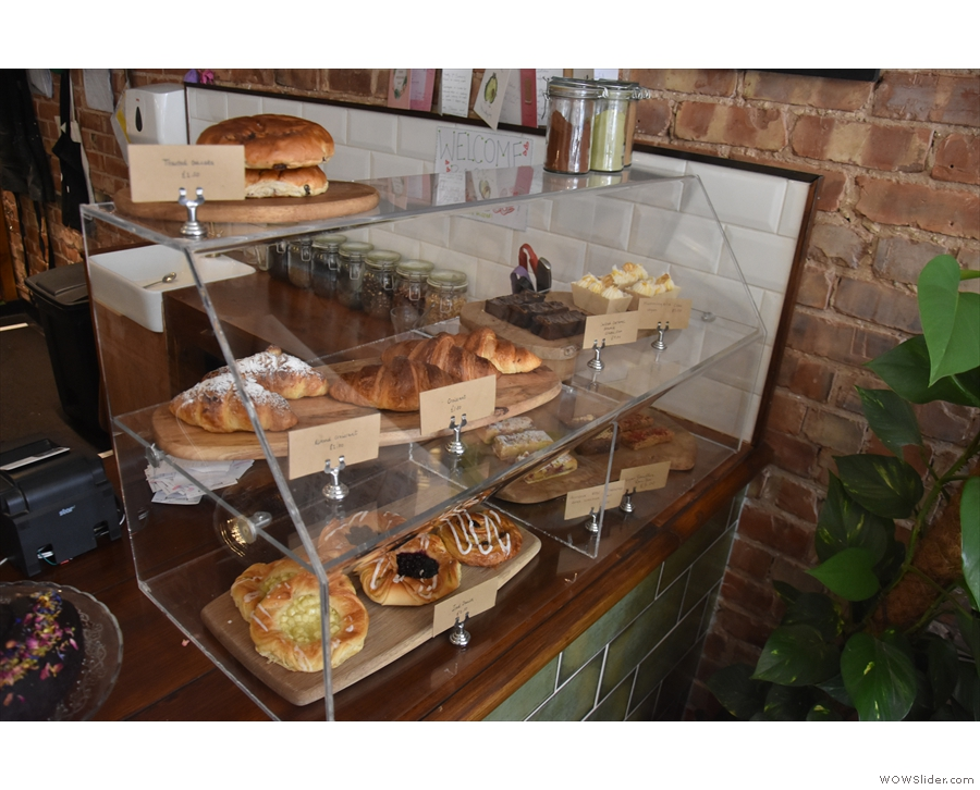 As well as the food menu and the specials, there's a selection of cakes in the case at...