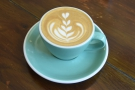 I started with a flat white, made with Has Bean's Jailbreak blend.