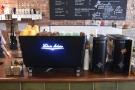 The heart of the Bean & Cole operation: a Victoria Arduino White Eagle espresso machine...