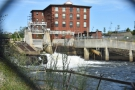 ... and explored the old mill town, where the Saco River powered many mills...