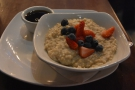 Oatmeal for breakfast? Yes please!