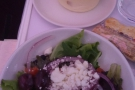 ... although I did manage to get the Greek salad starter from the main menu...